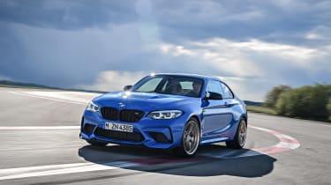 BMW M2 CS driving