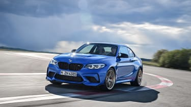 BMW M2 CS driving