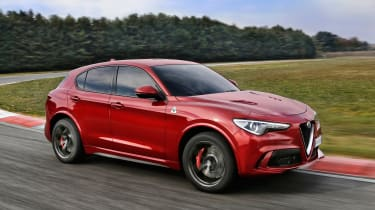 Alfa Romeo will unleash the high-performance Stelvio Quadrifoglio SUV in 2018