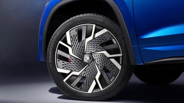 2021 Skoda Kodiaq vRS - alloy wheel