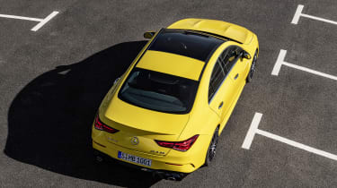 Mercedes-AMG CLA 35 - above rear static