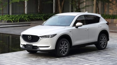 Mazda CX-5 100th Anniversary - front 3/4 view