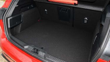 Ford Focus ST hatchback boot
