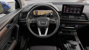 Audi Q5 Sportback SUV interior