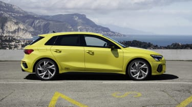 2020 Audi S3 Sportback side view