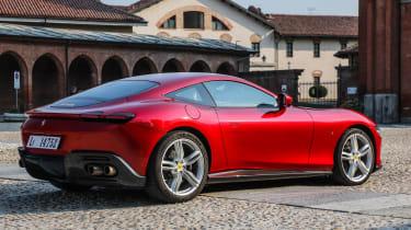 Ferrari Roma coupe side static