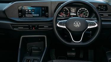 Volkswagen Caddy MPV interior (standard screens)