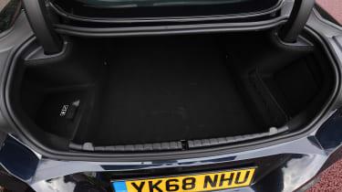 BMW 840d boot