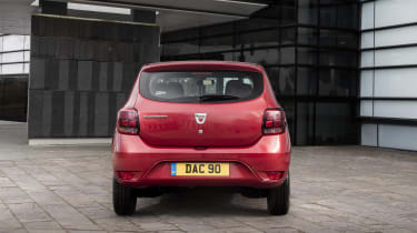 Dacia Sandero hatchback rear static