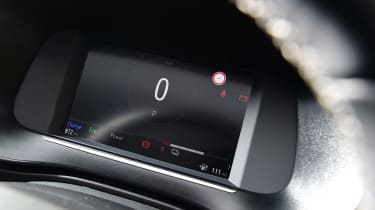 Vauxhall Corsa-e hatchback digital instrument display