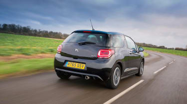 The fastest is the THP 205 in the DS 3 Performance, getting it from 0-62mph in 6.5 seconds