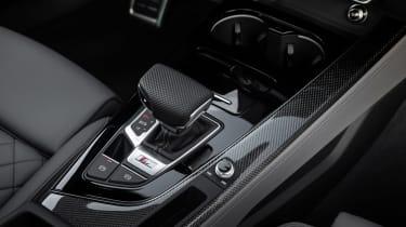 Audi S4 saloon gearlever