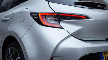 Toyota Corolla hatchback rear lights