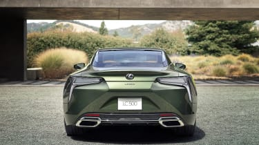 Lexus LC Limited Edition rear view