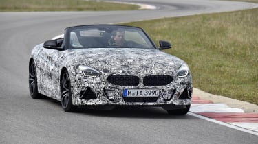 BMW has cut 50kg from the weight of the previous Z4.