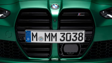 2021 BMW M3 Competition saloon - front grille