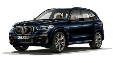 BMW X5 M50i front view static