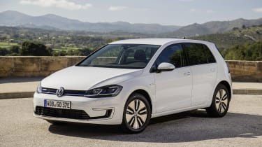 The Volkswagen e-Golf is une of the most unsuspecting electric cars you can buy