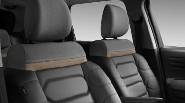 Citroen C3 Aircross facelift seats