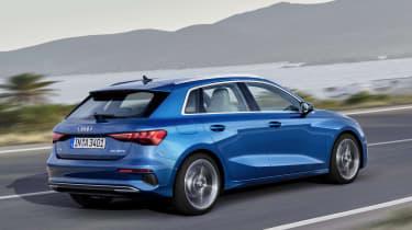 2020 Audi A3 Sportback - rear 3/4 dynamic