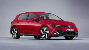 2020 Volkswagen Golf GTI  - front 3/4 view