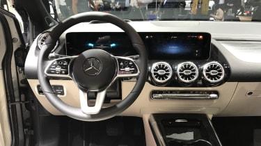 Mercedes B Class interior