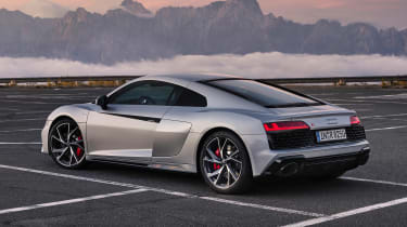 2020 Audi R8 RWD Coupe - rear 3/4 static view
