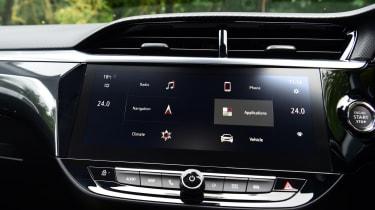 Vauxhall Corsa-e hatchback centre console
