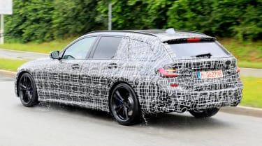 BMW 3 Series Estate rear tracking spy shot