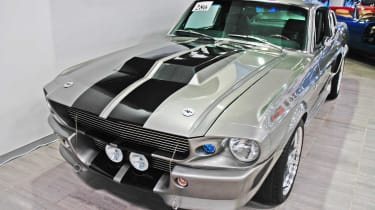 This unique Shelby GT500 was the star car of the 2000 remake of Gone In 60 Seconds, starring Nicholas Cage.