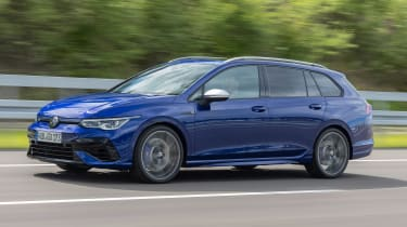 2021 Volkswagen Golf R Estate - driving