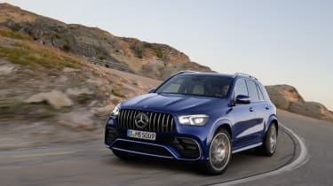 Mercedes-AMG GLE 63 S - front 3/4 dynamic view