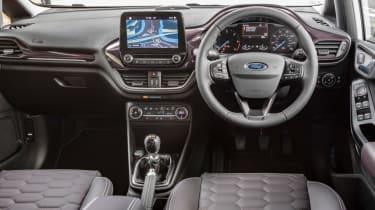 Ford Fiesta Vignale hatchback interior