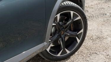 Cupra Formentor SUV review alloy wheels