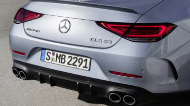 2021 Mercedes CLS AMG 53 - rear close up