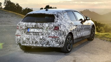 2019 BMW 1 Series pre-production - rear static