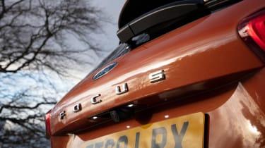 Ford Focus Active hatchback rear badge
