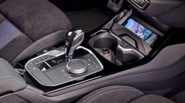 BMW M135i lower centre console
