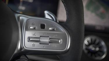 Mercedes-AMG GT 63 steering wheel detail
