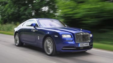 The Wraith might be the most involving Rolls-Royce, but it still weighs as much as a large SUV