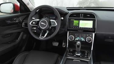 Jaguar XE saloon dash