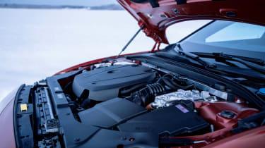 Volvo V60 T8 Twin Engine hybrid engine bay