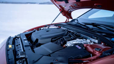 Volvo V60 T8 Twin Engine hybrid engine bay