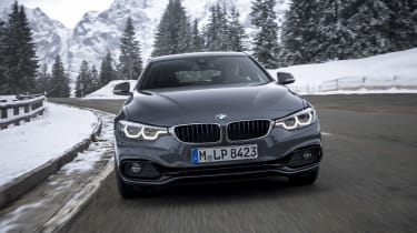 BMW 4 Series Gran Coupe front driving