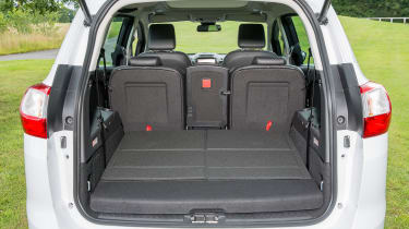 With five seats in place, the boot expands to 448 litres, making it more practical than a family hatchback