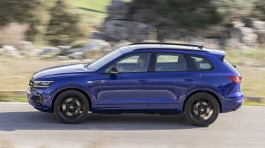 Volkswagen Touareg R driving - side view