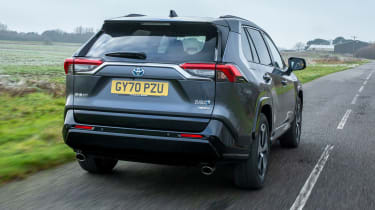 Toyota RAV4 PHEV rear 3/4 tracking