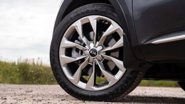 2020 Kia Sorento SUV - front alloy wheel