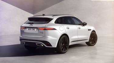 Jaguar F-Pace R-Dynamic Black - rear 3/4 static