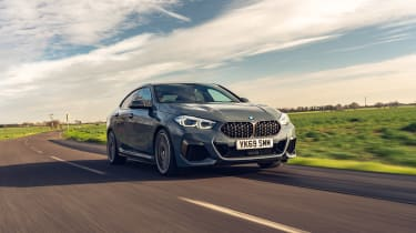 BMW 2 Series Gran Coupe saloon front tracking